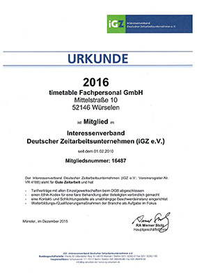 timetable Fachpersonal IGZ Urkunde 2016 Thumbnail
